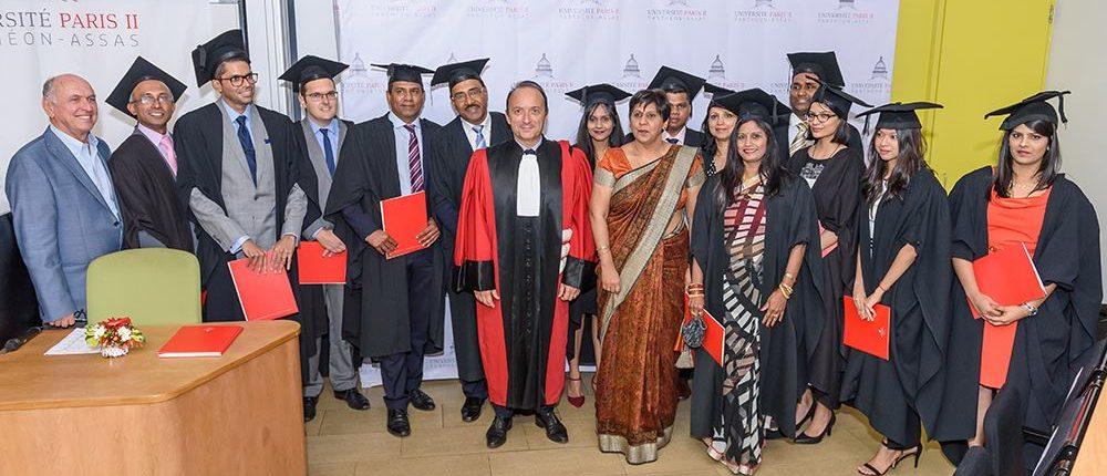 LL.M 2016 Graduation Ceremony : first LL.M batch in Mauritius campus ...